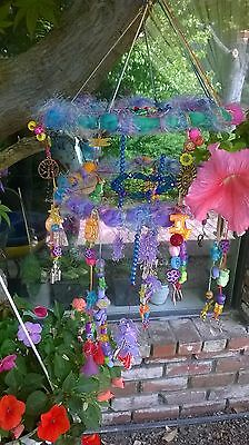 Rainbow Dream Catcher dream catcher/Suncatcher rainbow chakra crystal