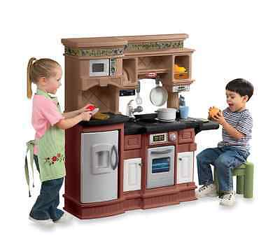 Little Tikes Gourmet Prep n' Serve Pretend Toy Kitchen Playset with Play Dishes