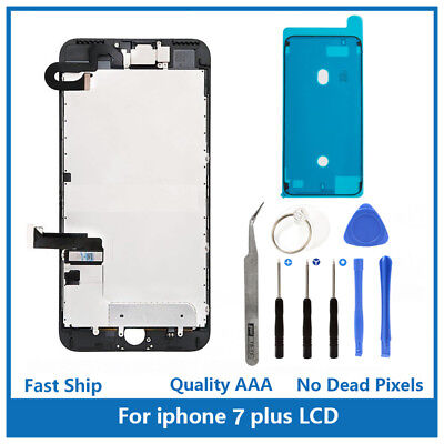 iPhone 7 Plus Full Screen Replacement LCD Plate Front Camera Ear Speaker & Tools