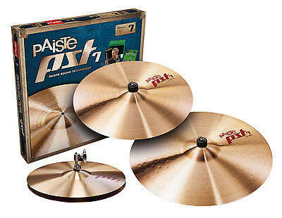 "Paiste PST7 14""/16""/20"" Cymbal Pack"