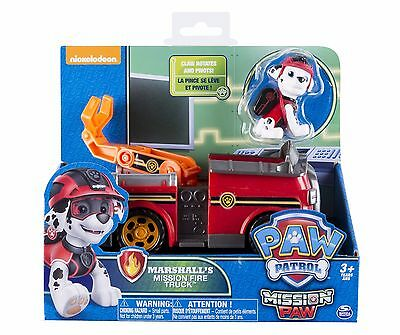 Paw Patrol Marshall's Fire Truck Toy - NEW STYLE Authentic Mission Paw Firetruck