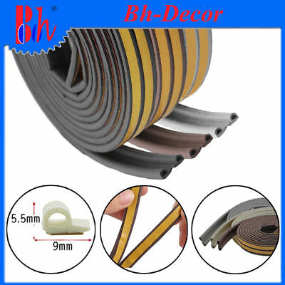 EPDM Rubber Foam Doors Windows Sealing Weather Stripping P Profile Self Adhesive