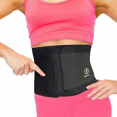 Waist Support Trimmer Belt Weight Loss Ab Wrap Fat Stomach Tummy Fat Reduction