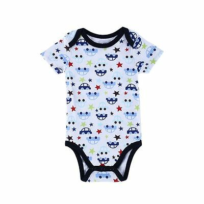 Cotton Bodysuit Newborn Baby Girl Boy Clothes Romper Jumpsuit Playsuit Outfits