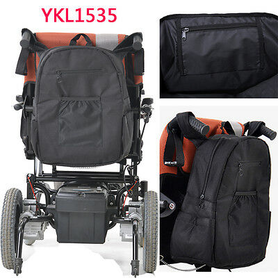 Deluxe Lined Back Wheelchair Shopping/Storage Bag Water Resistant for Shopping