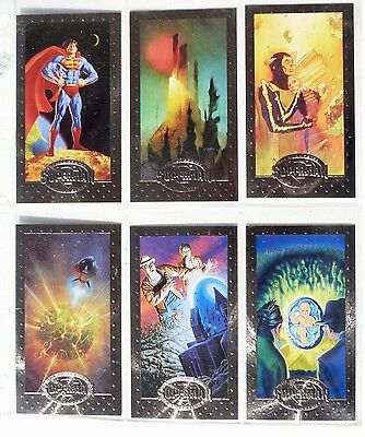Superman - Man Of Steel - Platinum Series - 90 Card Set - Komplett