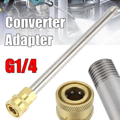 G1/4 Quick Release Female Converter Adapter For Snow Foam Pressure Washer Lance