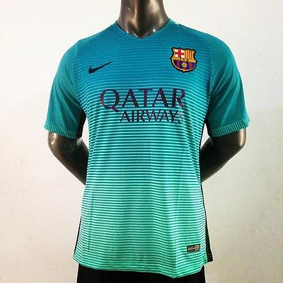 Nike MEDIUM Adult Barcelona 2016/2017 3rd Jersey Shirt Brand New with tags