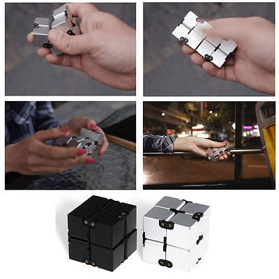 Luxury Infinity Cube EDC Mini For Stress Relief Fidget Anti Anxiety Stress Funny