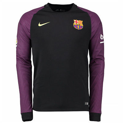 Nike 2016/2017 FC Barcelona GOALKEEPER  Shirt Kid's XL BOYS New with Tags