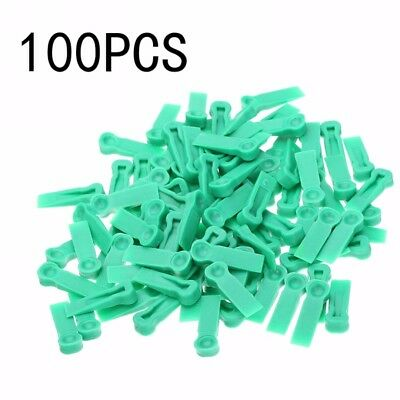 100pcs Wedges Floor Wall Tile Leveling System Plastic Tile Spacers Bulding Tool