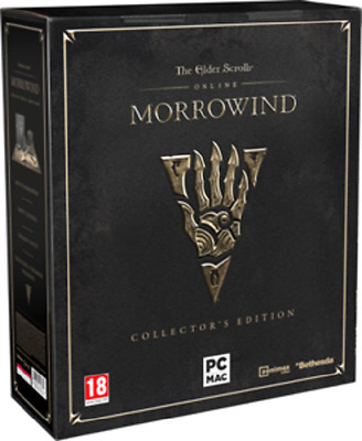 NEW! Elder Scrolls Online: Morrowind Limited Collectors Edition PC
