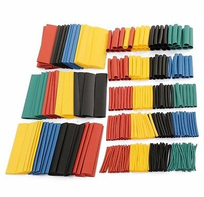 328pcs 2:1 Polyolefin Heat Shrink Tube Assort Set Wire Insulated Sleeve Tube 8