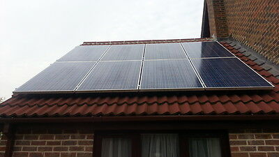 2Kw Solar Panel Kit Grid Tied  Photovoltaic System .best Price Anywhere