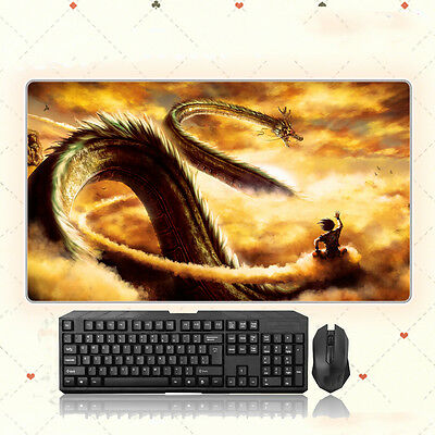 68x38CM Anime Mouse pad Dragon Ball PLAYMAT CUSTOM Large Mousepad Mat