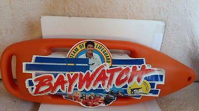 VTG OFFICIAL 1996's BAYWATCH PLASTIC RESCUE CAN TORPEDO MATPLAST 26 inch MINT!