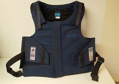 Just Togs Childs Horse Riding Body & Shoulder Protector Size 32 XL (R)