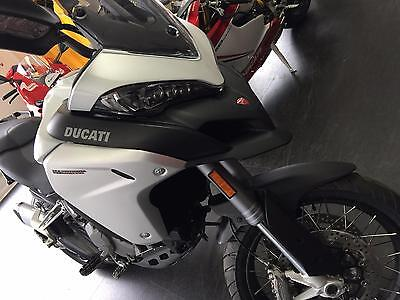 Ducati Multistrada  Enduro ABS Touring motorcycle Panniers heated grips