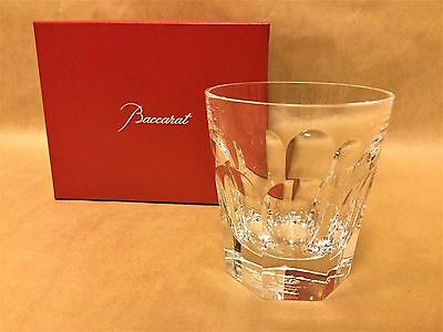 baccarat harcourt french tumbler old fashion glass unused new one