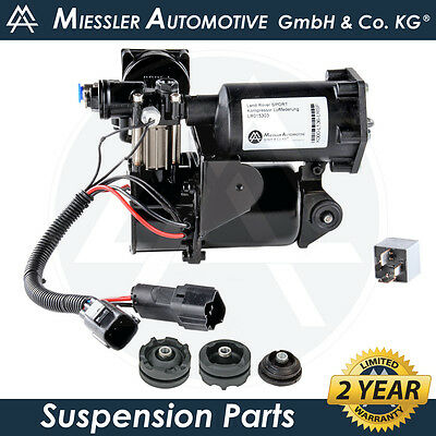 Land Rover Discovery 3 MKIII MIESSLER Air Suspension Compressor & Relay LR023964