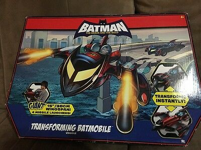Batman The Brave And The Bold Transforming Batmobile Vehicle 2008 New In Box
