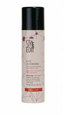 New! Style Edit Conceal Spray 2 Oz. Auburn/red (Conceal Your Gray Between Color