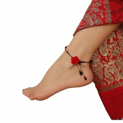 LOHOME® Agate Anklets, Beautiful Hand Craft Retro Vintage Gothic Style Noble