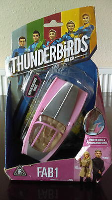 Vivid Toys THUNDERBIRDS FAB 1 w Sounds *WORKING* Lady Penelope Parker 2015