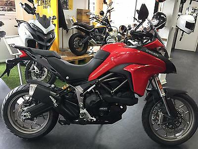 Ducati Multistrada 950 Touring Adventure motorcycle,Panniers both colours