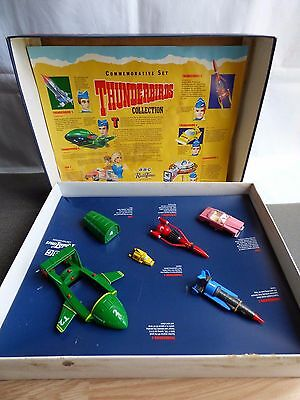 Thunderbirds Radio Times Commemorative Set by Matchbox 1992 Complete Vintage Box