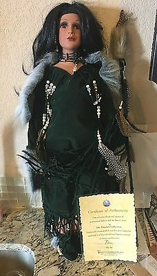 """Nanci TIMELESS Indian Collection Porcelain Doll 26"""""""