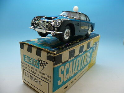 Scalextric French E/5 Marshal Car in Black, super condition and in original box