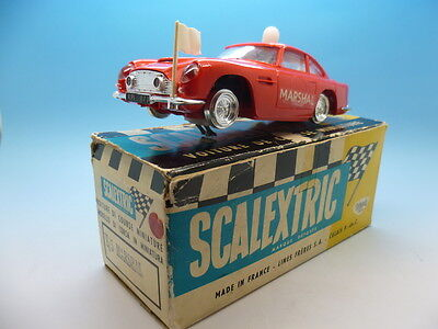 Scalextric French E/5 Marshal Car in Red, super condition and in original box