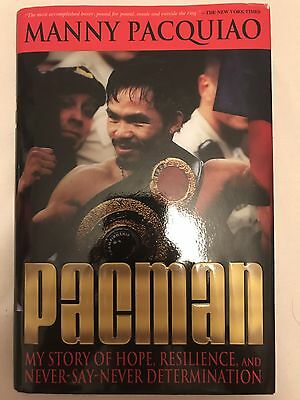 Manny Pacquiao Signed Pacman Autobiography