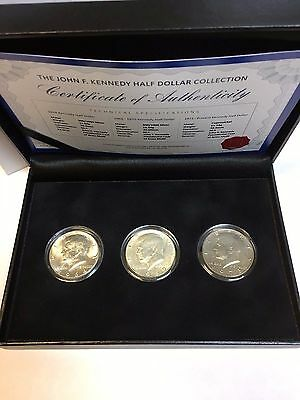 The JOHN F KENNEDY HALF DOLLAR COLLECTION