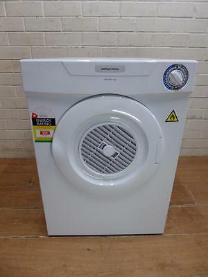NEW / AS NEW CURRENT MODEL FISHER & PAYKEL AERODRY 4Kg WALL MOUNT CLOTHES DRYER
