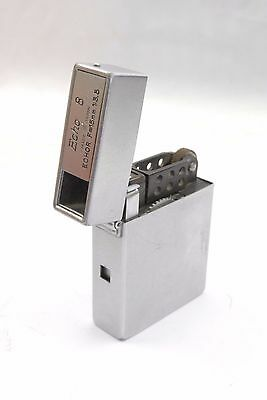 Suzuki Echo 8 satin chrome finish Subminiature Camera / Cigarette lighter VGC
