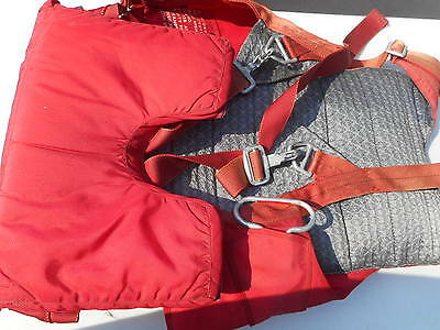 26 Foot Seatpack Parachute Security 150 Safety Chute MFG Security Parachute CO