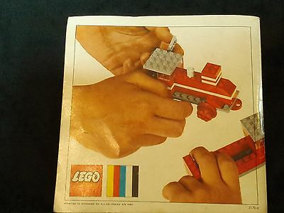 Vintage Lego Ideas Booklet, Genuine 60s, 72 Full Colour Pages, VGC