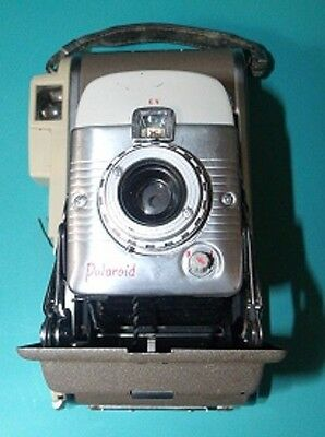 Old Vintage POLAROID Model 80A Land Camera With Case and Extras