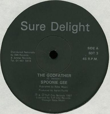 "SPOONIE GEE – The Godfather  1987 Hip Hop 12"" Vinyl"