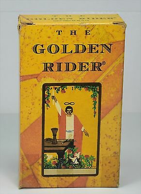 The Golden Rider Tarot Deck  By Francois Tapernoux