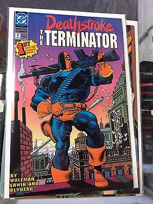 Deathstroke the Terminator #1-18 Complete Unbroken Run 1991 Comics Series NM