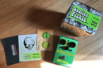 Way Huge Swollen Pickle Jumbo Fuzz MkIIS WHE 401S Pedal