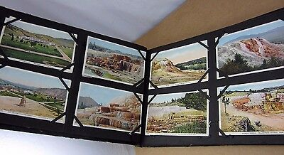 110 Lot Yellowstone Park Tourist Postcards Some duplicates in post card album