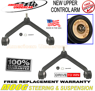 2 MOOG CK7424 UpperControl Arms Ball Joints and Bushings fits Dodge Ram Durango