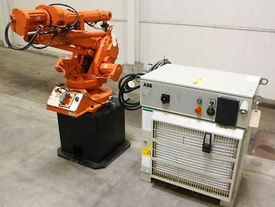 ABB No. IRB 1400 Industrial Robot w/M2000 S4C+ Controller & Teach Pendant