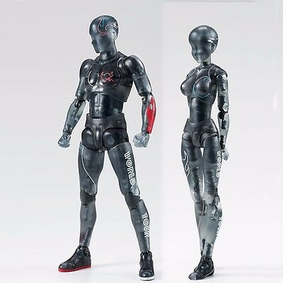 2 S.H.Figuarts WORLD TOUR Aniversary DX Body Kun & Body Chan Poseable Joint Doll