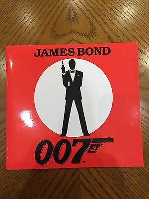 Rare Set of James Bond Phone Cards - Highly Collectible