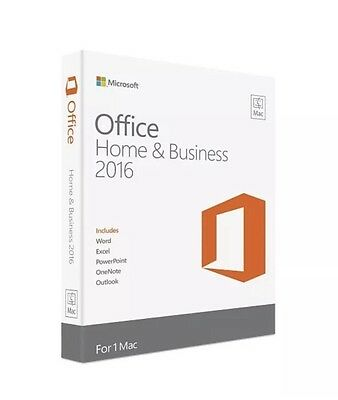 Microsoft Office Home & Business 2016  *LIFETIME LICENSE WITH UPDATES*